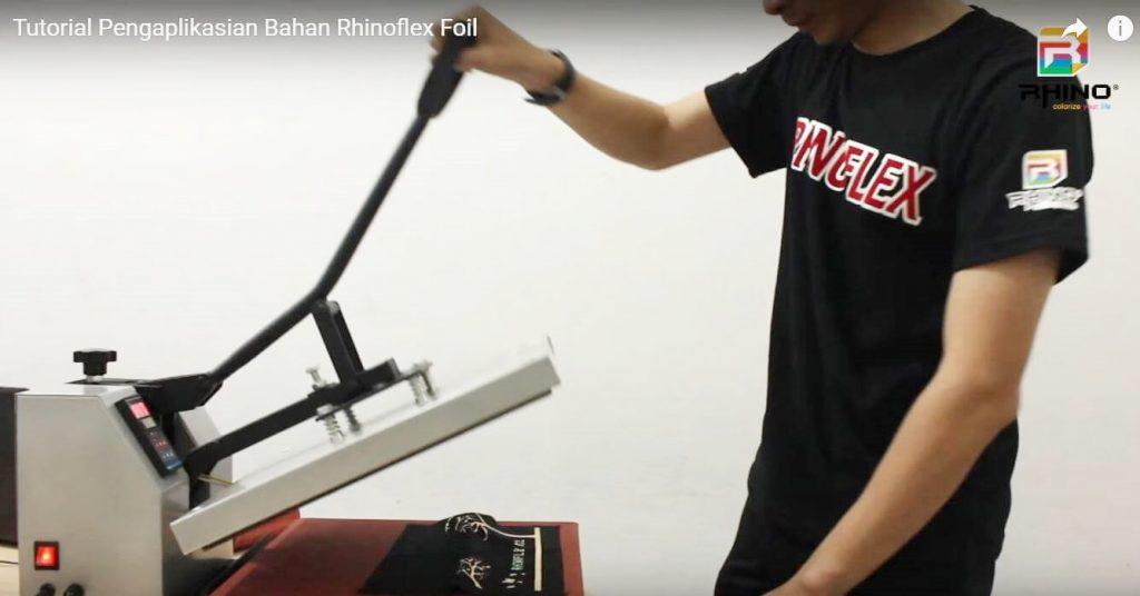 cara menggunakan mesin press rhinotec