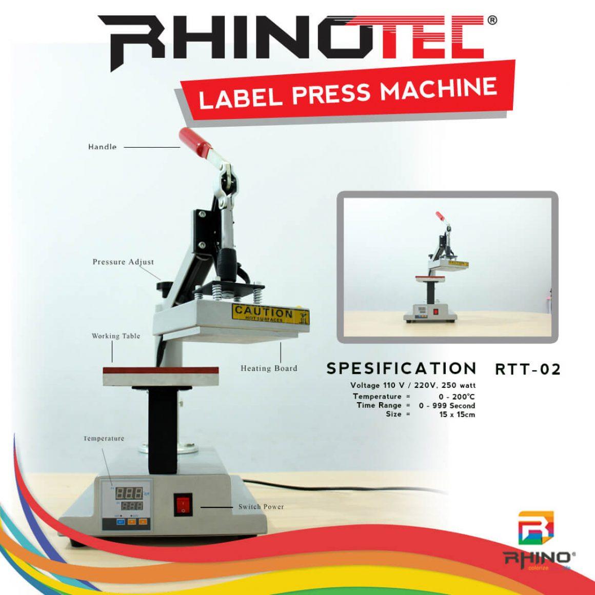 Alat sablon mesin press rhinotec (7)