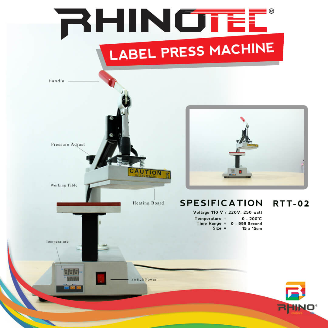 Alat sablon mesin press rhinotec (7)