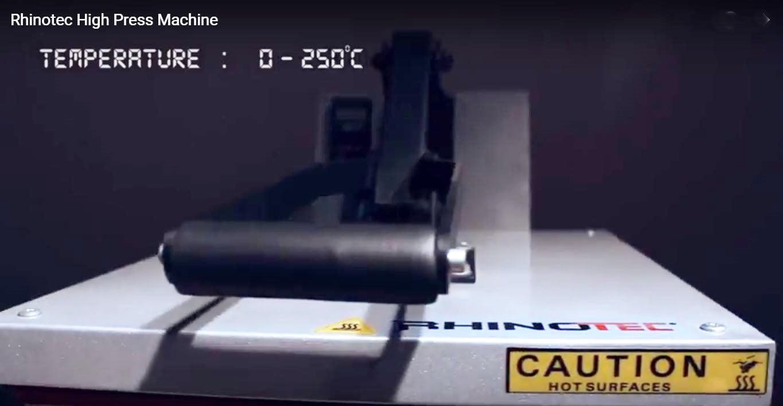 RHINOTEC HIGH PRESSURE MACHINE