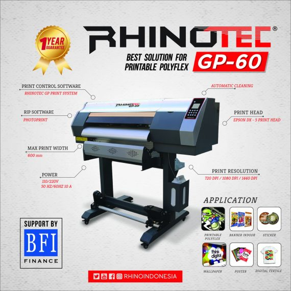 CUTTING STICKER RHINOTEC GP-60