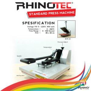 RTP 01 Mesin Press Standart Rhinotec Terlaris