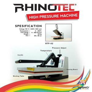 RTP 02 MESIN PRESS HIGH PRESSURE RHINOTEC