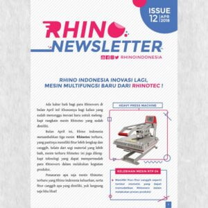 RHINO Indonesia Newsletter april 2018 a