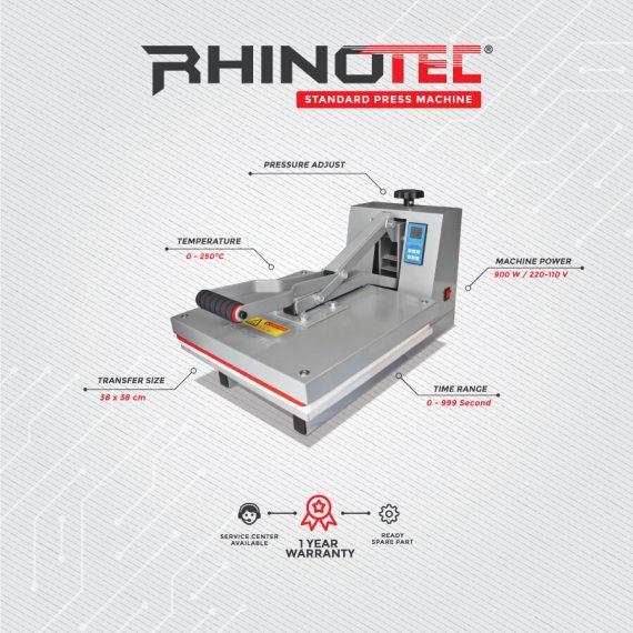 Mesin press standart rhinotec rtp-01