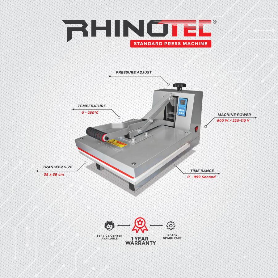 Mesin Press Kaos Kualitas Terbaik rhinotec RTP-01 bergaransi