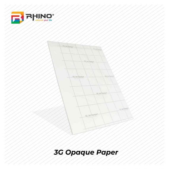 3G Jet Opaque Transfer Paper