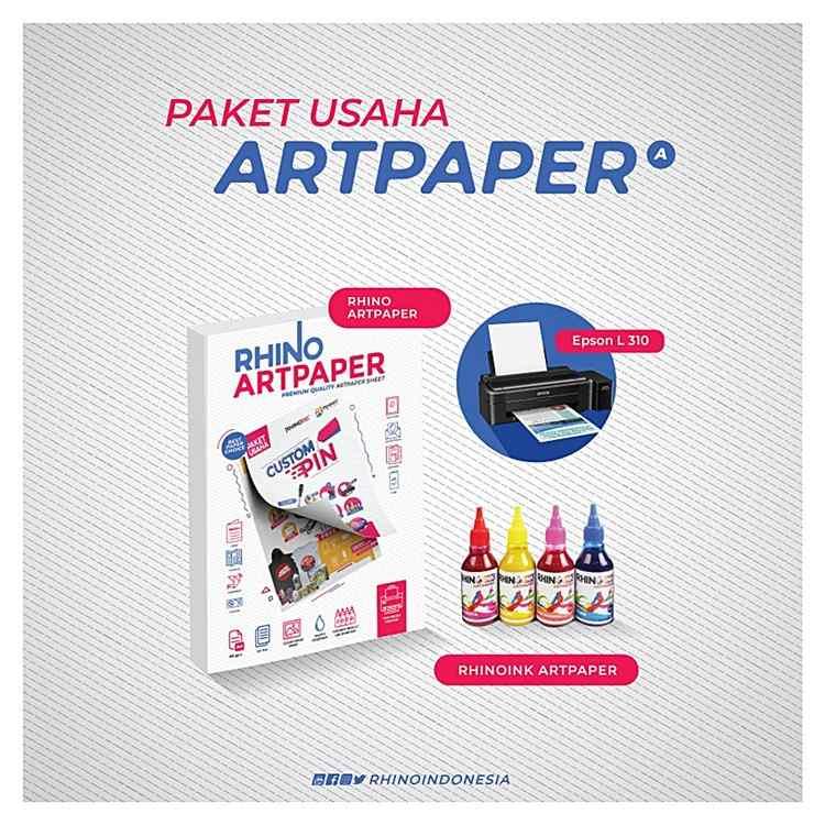 5 Kelebihan Tinta Art Paper Rhino