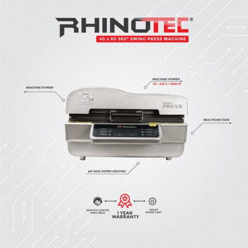 Rsm-05 baru mesin sublime rhinotec