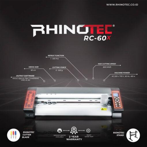 Mesin Rhinotec RC 60 X Series