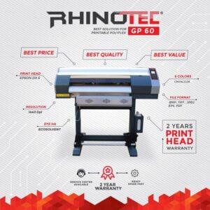 Mesin printing rhinotec gp 60