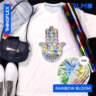 Bahan rhinoflex foil motif cocok untuk sablon kaos dan jaket