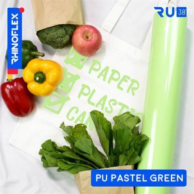 Bahan Rhinoflex PU Pastel Untuk sablon kaos