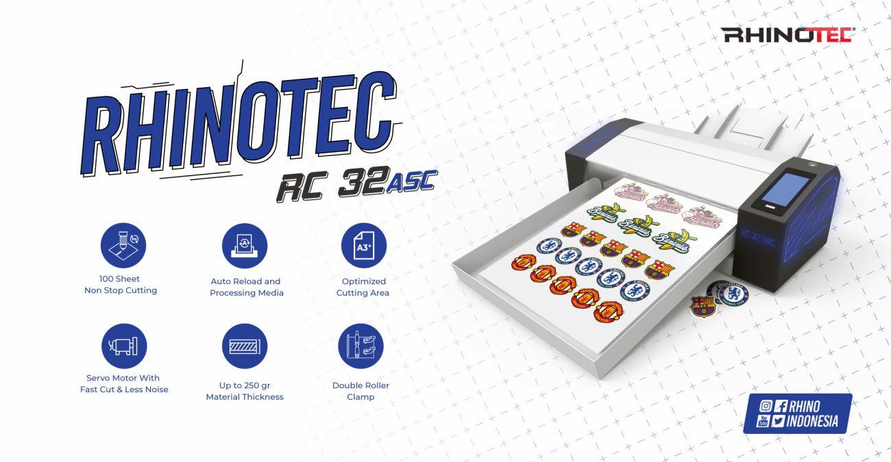 Mesin Cutting Rhinotec RC 32 ASC