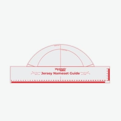 Jersey Nameset Guides