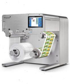 mesin label kemasan T2-C Trojan Label