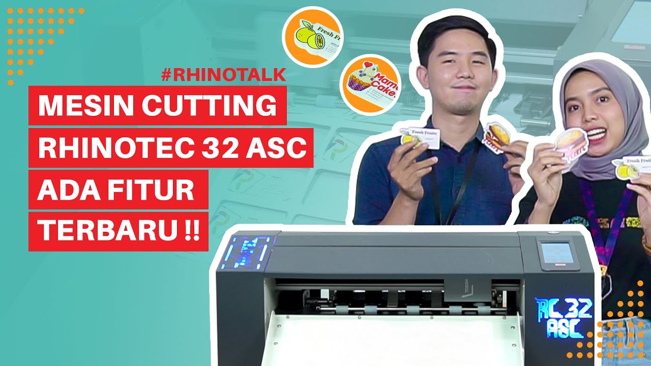 Fiitur Baru - Proses Cutting Die Cut Lebih Mudah Dengan Rhinotec RC 32 ASC