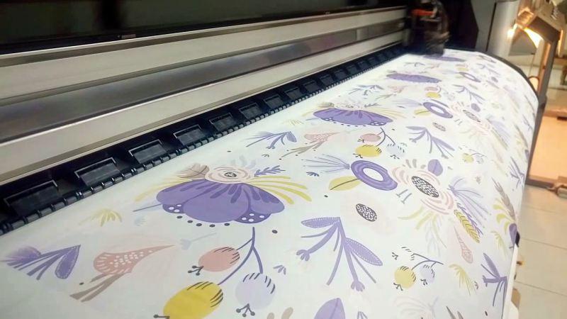 Usaha printing sublime Hijab dan Mukena