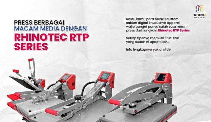 New!!!! Mesin Press RTP Series Terbaru, Solusi Usaha Sablon Digitalmu